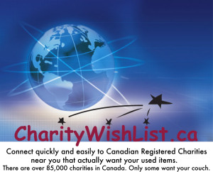 CharityWishList Ad for Media