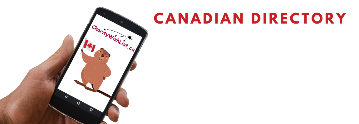 Find Canadian Registered Charities near you, that want what you want to give away