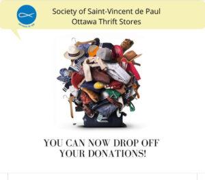 Clothing donations Ottawa