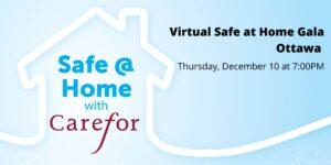 Carefor Virtual Gala Safe @ Home promo image