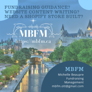 Promo for MBFM Michelle Beaupre Fundraising Management